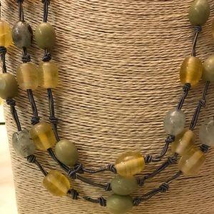 🔥⚡️BOGO SALE⚡️🔥 Sigrid Olsen 3 strand necklace